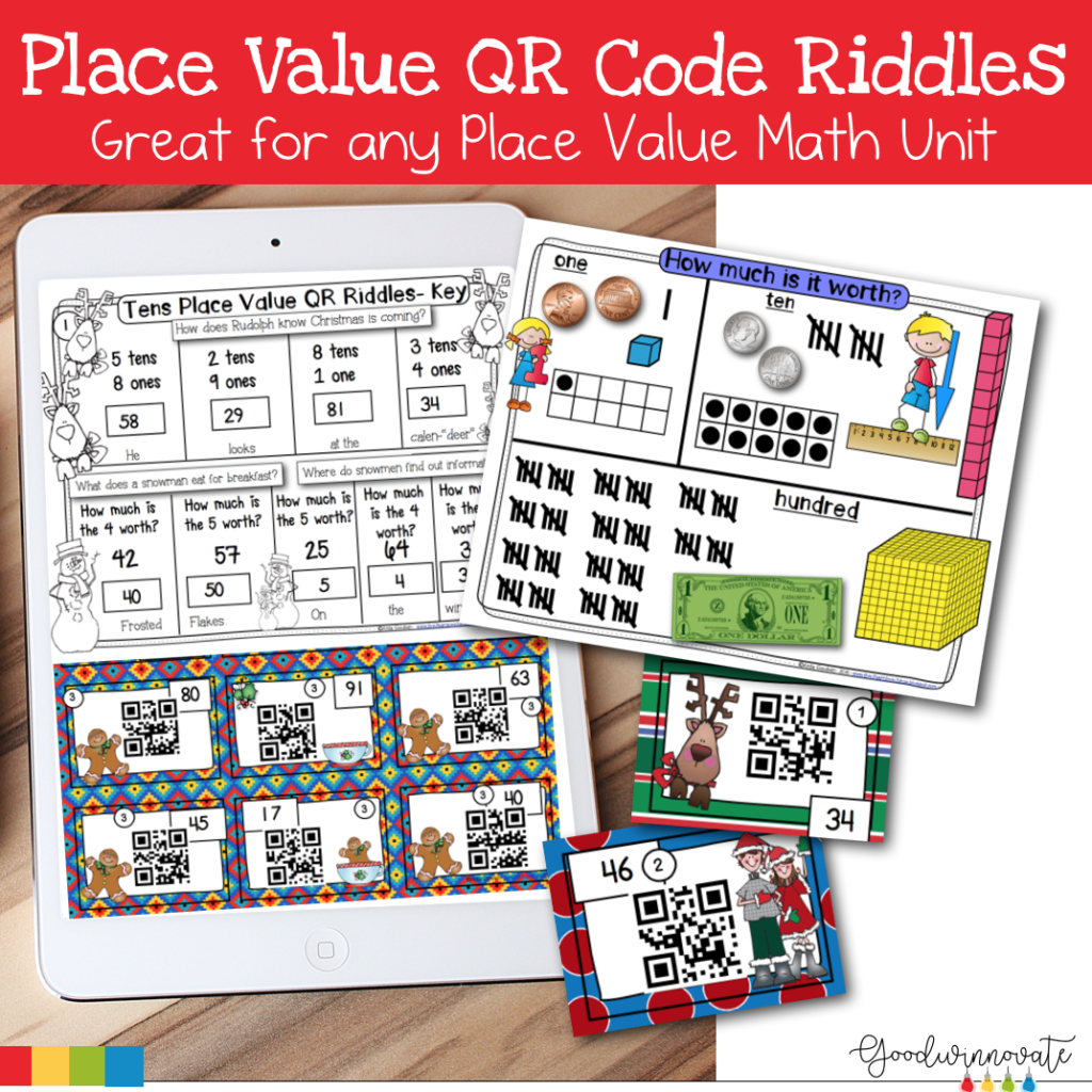 Math QR riddles - Goodwinnovate