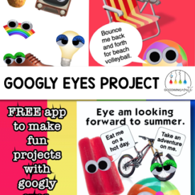 End of the Year Googly Eyes Project
