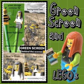 Green Screen Using LEGOs