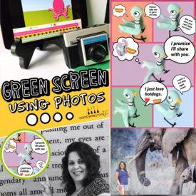 Green Screen Using Photos