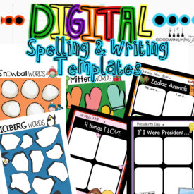 Digital Templates for Writing and Spelling