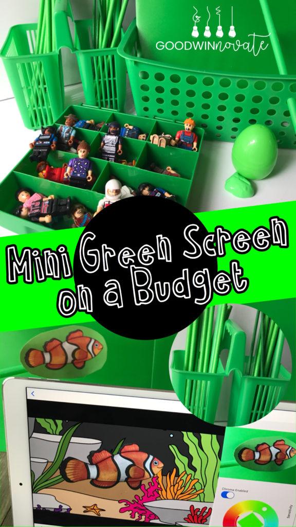 mini green screen on a budget goodwinnovate